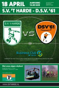 Aankondiging S.V. t Harde - DSV