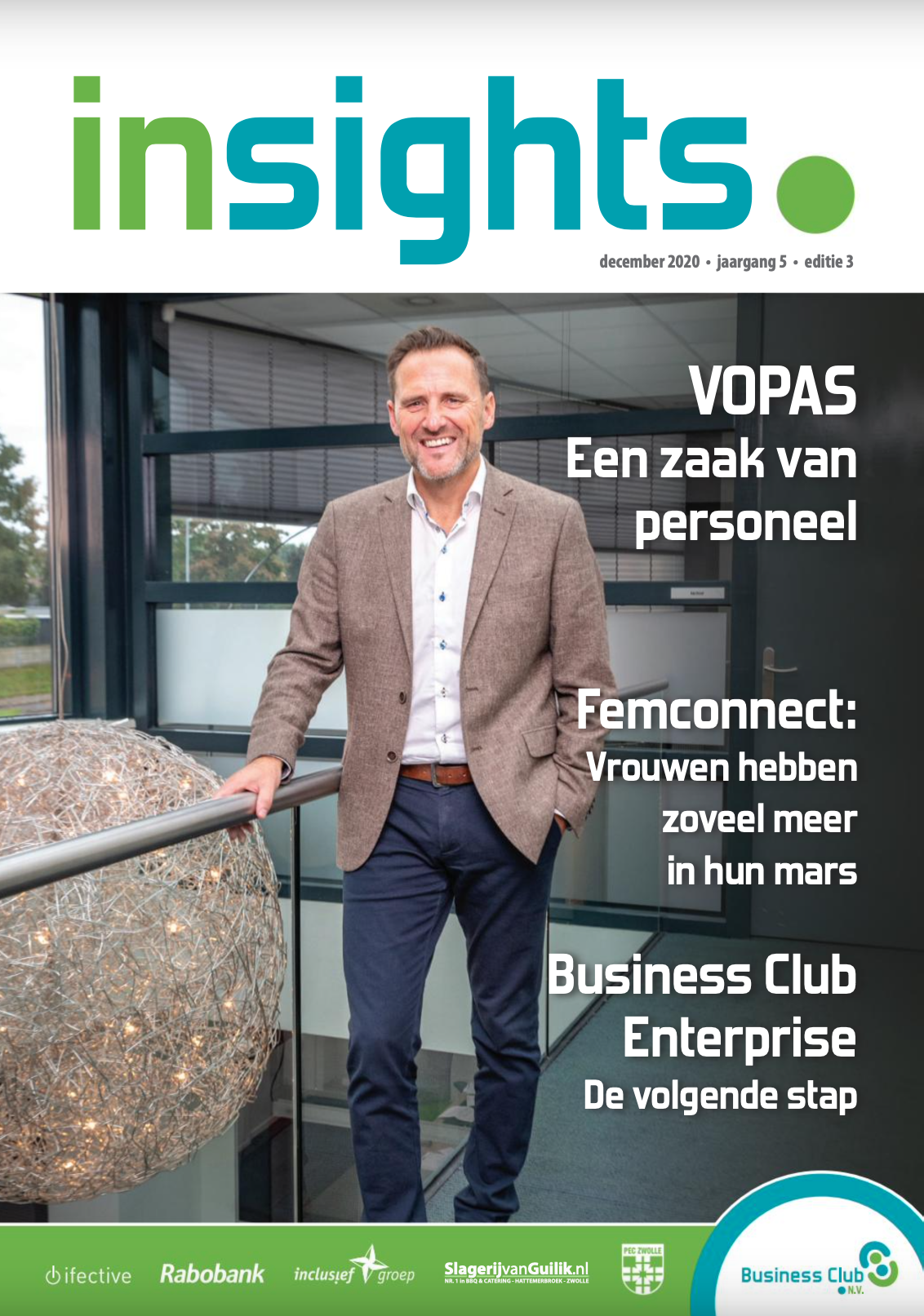 Cover magazine december 2020